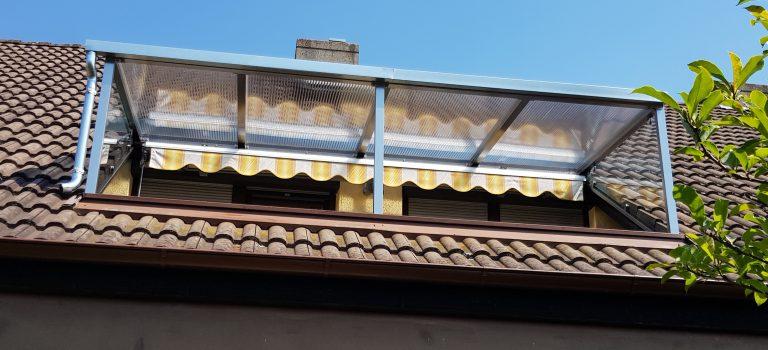 Terrassendach / Terrassenüberdachung