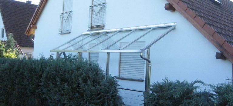Schutzdach für Kellerabgänge