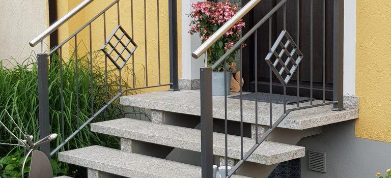 Nur wenige Stufen